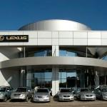 Клининговые услуги в автосалоне Лексус