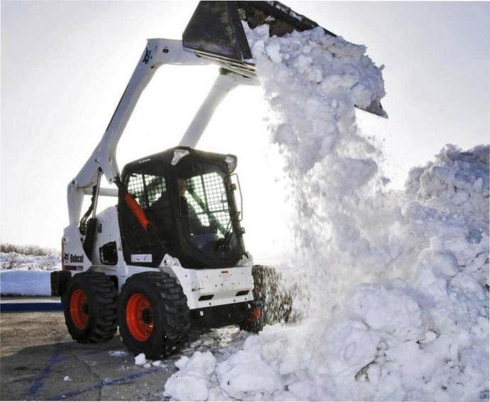Уборка снега в Перми