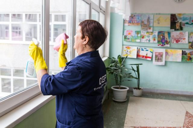 Уборка в Перми