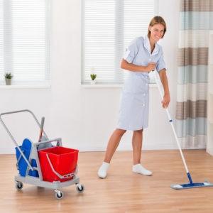 чистая уборка квартиры