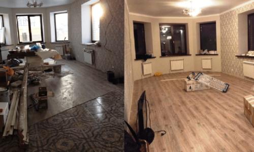 уборка комнаты от кристал груп