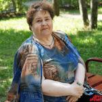пенсионерка Ольга Сергеевна