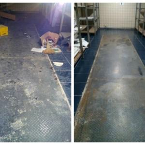 уборка склада до и после